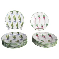 Mrs Henry Ford II Set of 12 French Limoges Plates