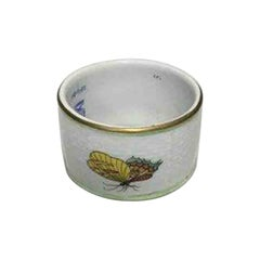 Herend Queen Victoria Green Napkin Ring No 270VBO