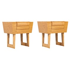 Mid-Century Modern Night Stands by Paul Laszlo for Brown Saltman