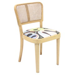 Thonet Chair with Josef Frank fabric, ca 1950s