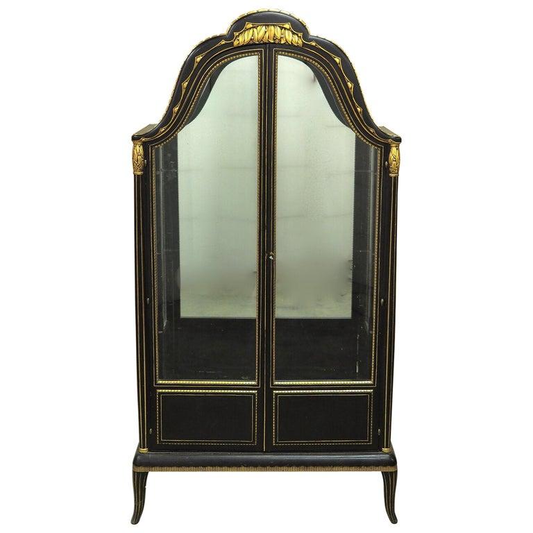 Paul Follot Display Cabinet/Vitrine For Sale