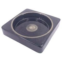 Bitossi Raymor Postmodern Catch-it-all Ceramic Bowl in Glossy Finish