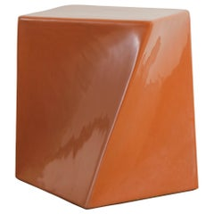 Contemporary Niu Drumstool in Mila Lacquer by Robert Kuo, Limited Edition