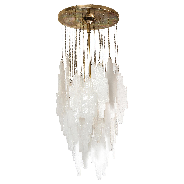 Cascading Pendant Lighting Flush-Mount Hanging Chandelier