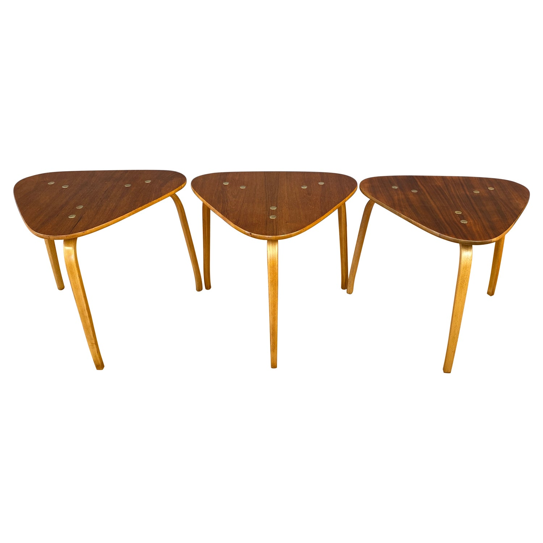 Swedish Karl Johan Biedermeier Lyre Motif Birch Table, 21 For ...