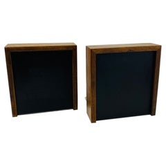Mid Century Rectangular Bookends by DAPCO