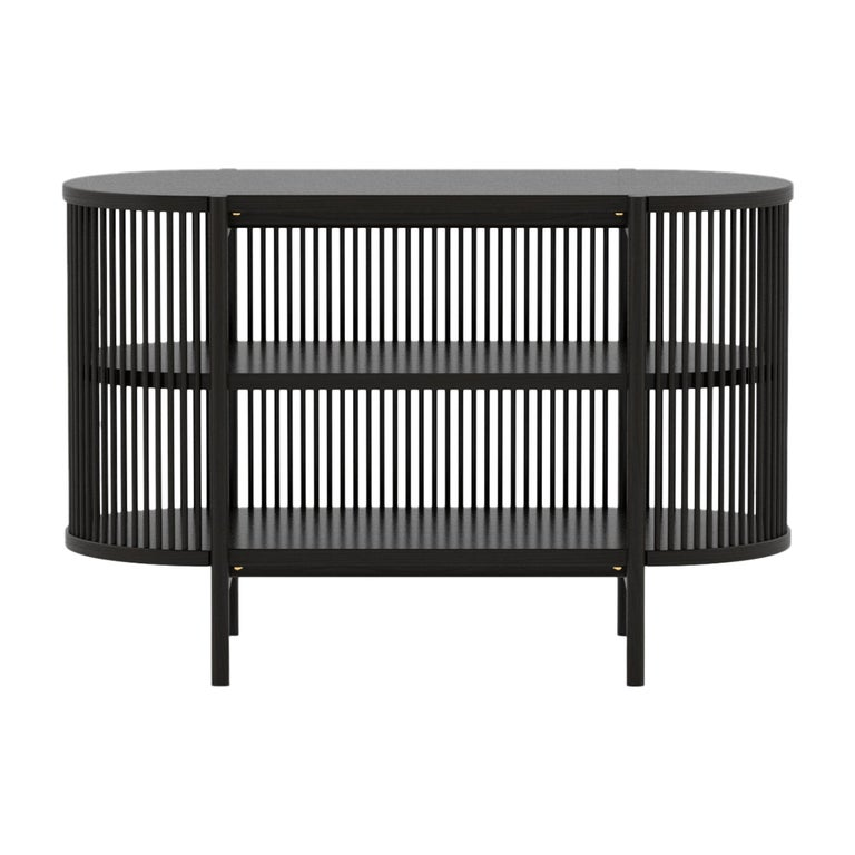 Petit Bastone Sideboard in Black For Sale