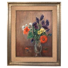 """Painting """"Flowers in a Vase"""""""