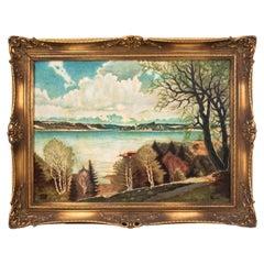 "Painting ""Lake View"""