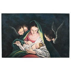 """Painting """"Mother of God with Baby Jesus"""""""