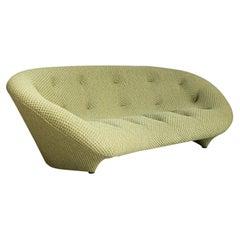 Ronan & Erwan Bouroullec Large High Back Ploum Sofa for Ligne Roset Green Fabric