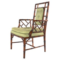 Faux Bamboo Armchair by Schoonbeck