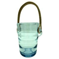 Vintage Ice Bucket by Per Lütken for Holmegaard Glass Works