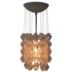 Rare Space Age Chandelier by Napako, 1970s