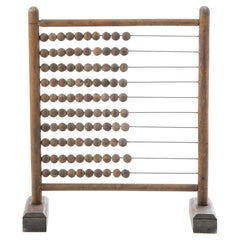 Antique French Wooden Abacus
