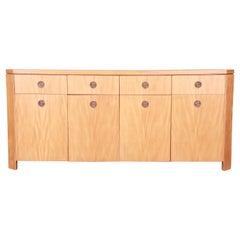 Charles Pfister for Baker Primavera Art Deco Sideboard Credenza or Bar Cabinet