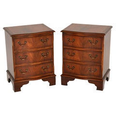 Pair of Antique Georgian Style Bedside Chests