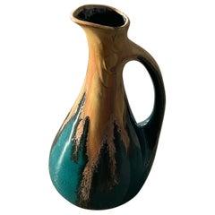 1960's French Ceramic Vase by Denbac for Girardot Chissay