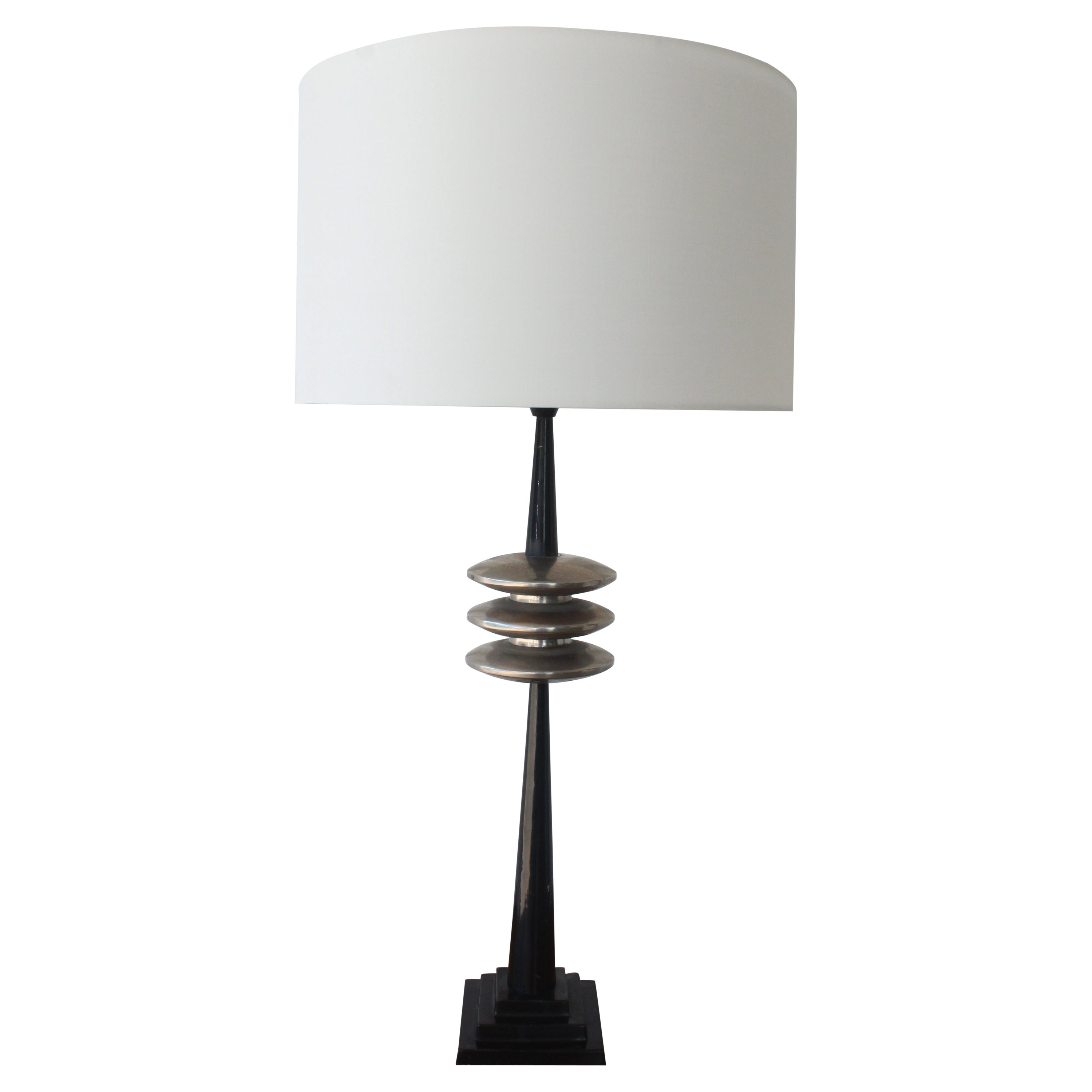 1930s Art Deco French Table Lamp