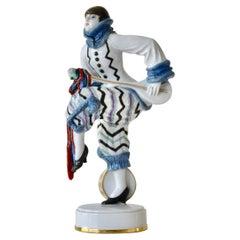 Large Rosenthal Germany Figurine Art Deco Lena Amsel Constantin Holzer-Defanti
