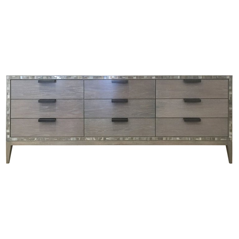 Milano Chest of 9 Drawers by Ercole Home For Sale