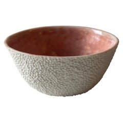 Caviar Porcelain Micro Texture Set of Two Small Bowls