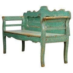 Antique Pine Bench, 1920s