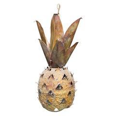 20th Century Pineapple Handing Light Pendant/Lantern