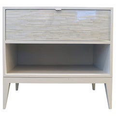 Milano 1-Drawer Nightstand by Ercole Home