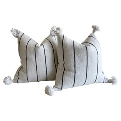 Pair of Moroccan Pillows with Tassels