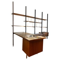 CSS Herman Miller Mid-Century Wall Unit by George Nelson