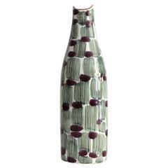 "Scandinavian Modern Ceramic ""Jungle"" Vase by Mari Simmulsson Upsala Ekeby"