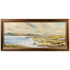 Seascape  Island Painting