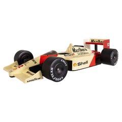 McLaren Car Scale Model Honda Celebrating Ayrton Senna