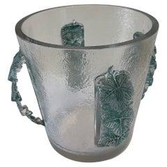 Champagne Bucket by René Lalique, France, Art Déco, 1930s