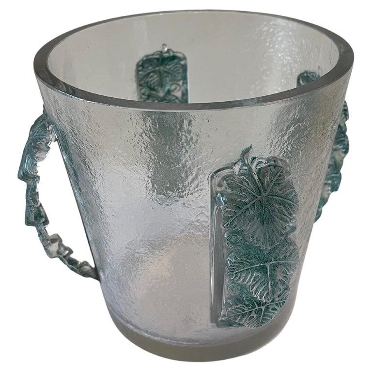 Champagne Bucket by René Lalique, France, Art Déco, 1930s For Sale