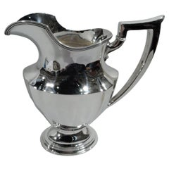 Antique Gorham Plymouth Sterling Silver Water Pitcher