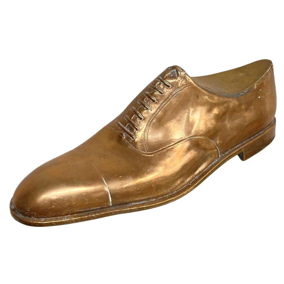 1950s Bronze Derby Shoe