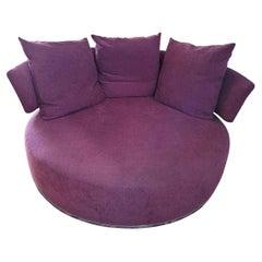 Amoenus Circular/Swivel Sofa by Antonio Citterio for B&B Italia, 2 Available
