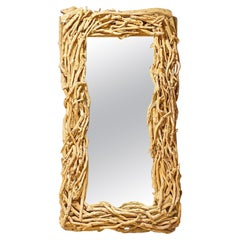 Large Scale Driftwood Mirror