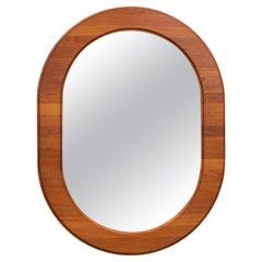 Scandinavian Oval Wall Mirror