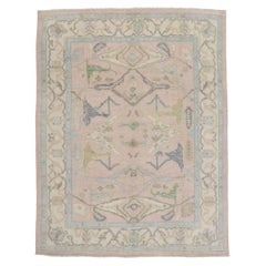 New Contemporary Oushak Design Rug with Modern Georgian Style
