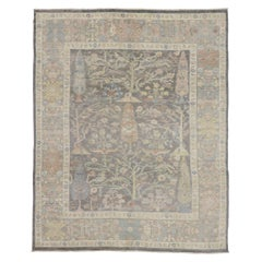 New Contemporary Oushak Rug with Tree of Life Design