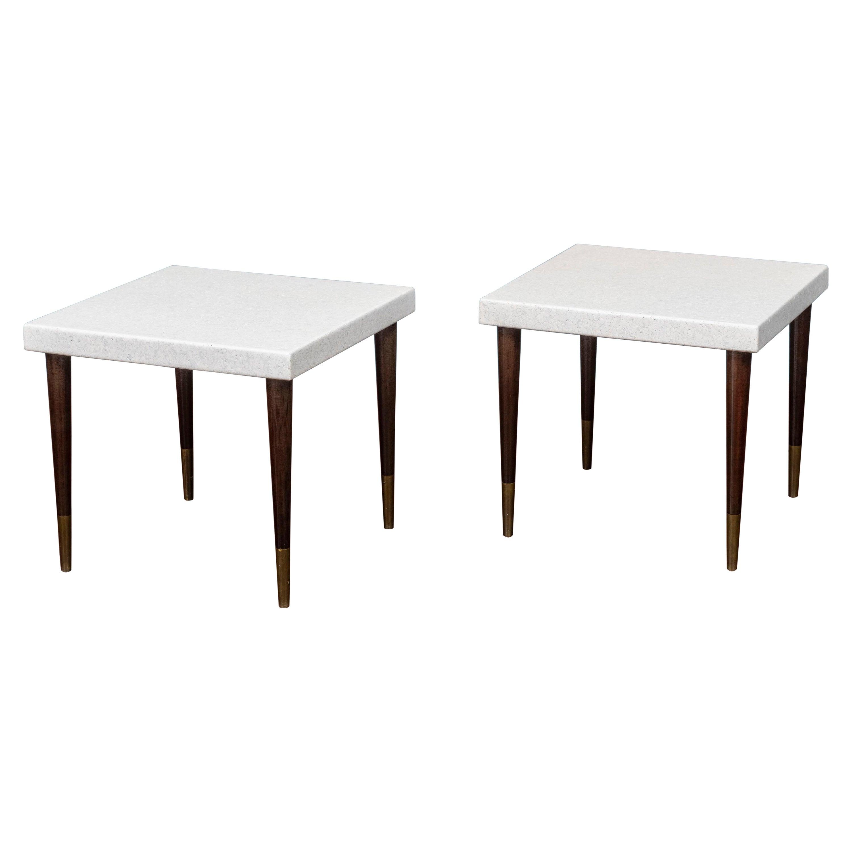 Paul Frankl Cork Side Tables