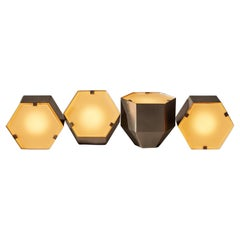 Two Rare Model No. 2022 Table Lamps by Fontana Arte