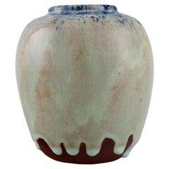 Pieter Groeneveldt, Unique Vase in Glazed Ceramics