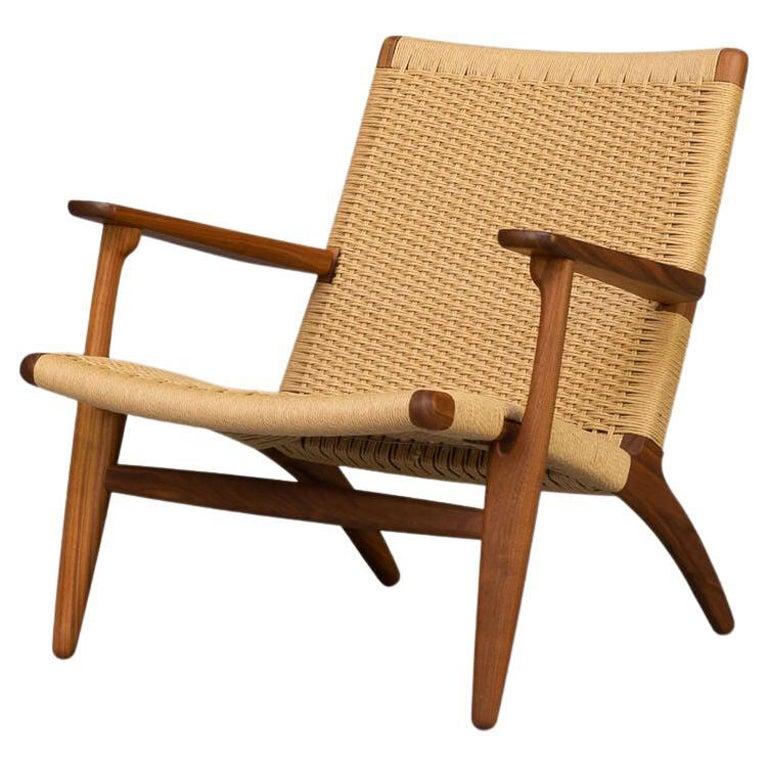 Hans Wegner CH25 Lounge Fauteul for Carl Hansen For Sale