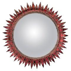 Soleil à pointes N ° 4 – Central witch Mirror - Line Vautrin 'France'