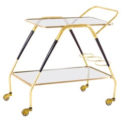 Cesare Lacca Bar Cart, Italy 1950s