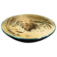 Vortex Coffee Table by Duffy London, Limited Edition Gold